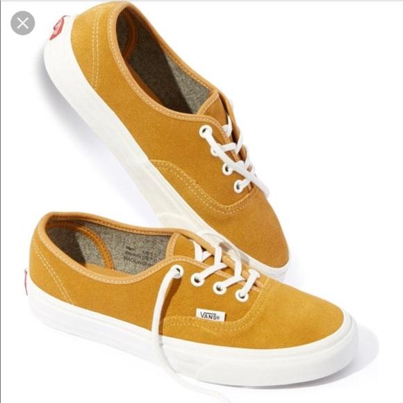 f476d1f1d0 New in box gold varsity vans